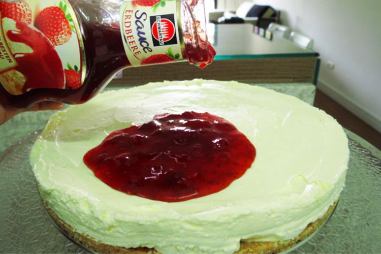 Cheesecake cobertura