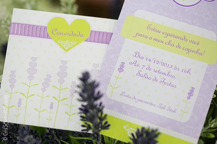 Convite Chá cozinha