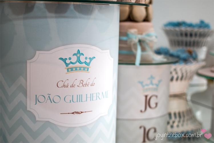 Detalhe base chá de bebe