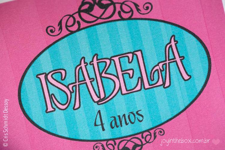 Isabela 4 anos
